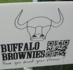 Buffal Brownies Sign