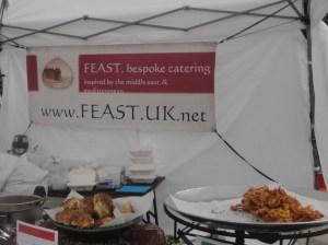 Feast UK stall