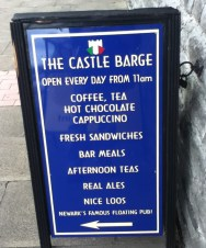 Castle Barge Board