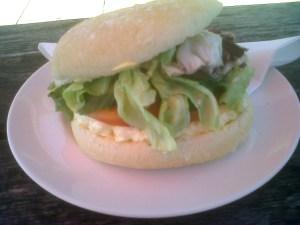 Egg Mayo with Salad Cob