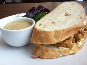 Chicken Tikki Sandwich