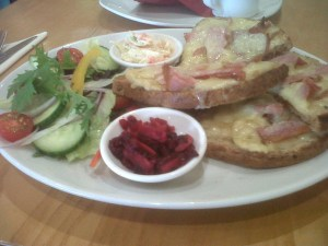 Welsh Rarebit at Dibleys