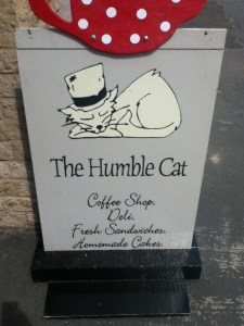 The Humble Cat Sign