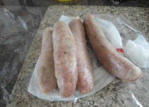 Harvest Pale sausages