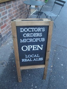 Doctors Orders Chalkboard