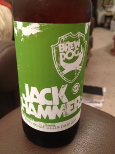 Brew Dog jack hammer