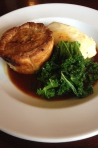 Guinea Fowl and Root Vegatable Pie