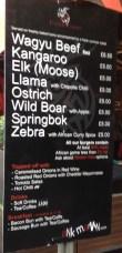 Exotic Burger Stall