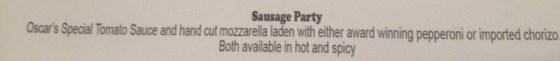 More Menu Pizza options