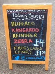 Exotic Meats Board