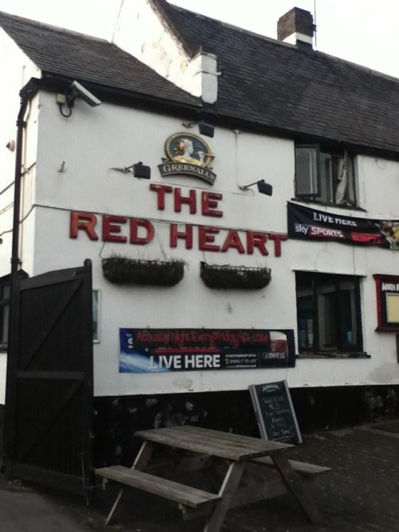 The Red Heart in Ruddington