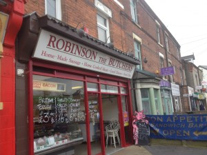 Robinsons Butchers in Netherfield