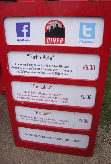 Big Daddies MENU
