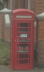 Library Phone Box