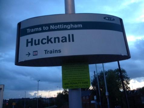 Hucknall Tram Stop