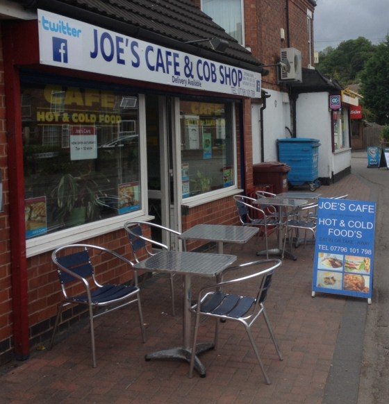 Joes Cafe in Colwick Vale