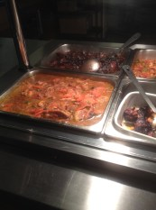Trays of Food at Jamaican Ways