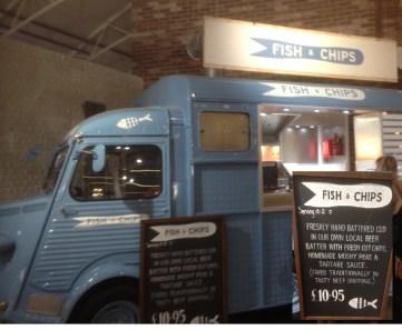 Fish abd Chip van at Wheatcrofts