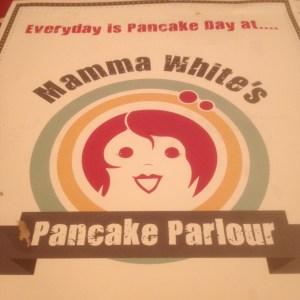 Mama White Pancake Parlour menu