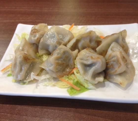 fried dumplings at Dingheen