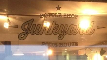 Junkyard Sign
