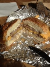 As slice of 5 guys burger