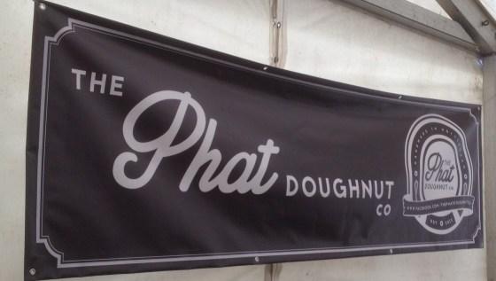 Phat Doughnut Company Sign