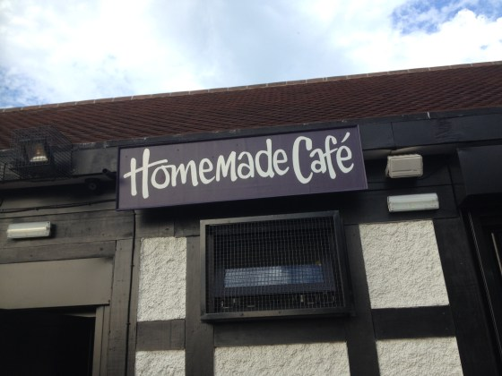 Homemade cafe