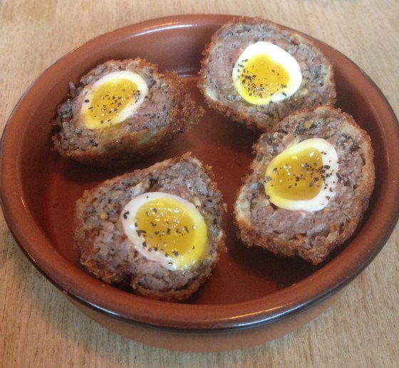 Beef Quail Scotch Eggs