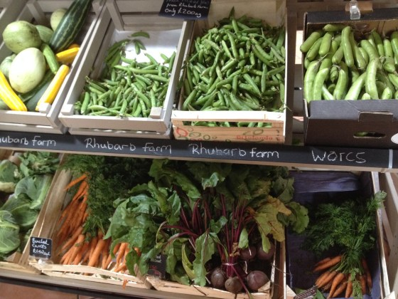Produce Counter at The Welbeck Farm Shop