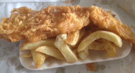 Fish and Chip Special at The Quality Fish Bar