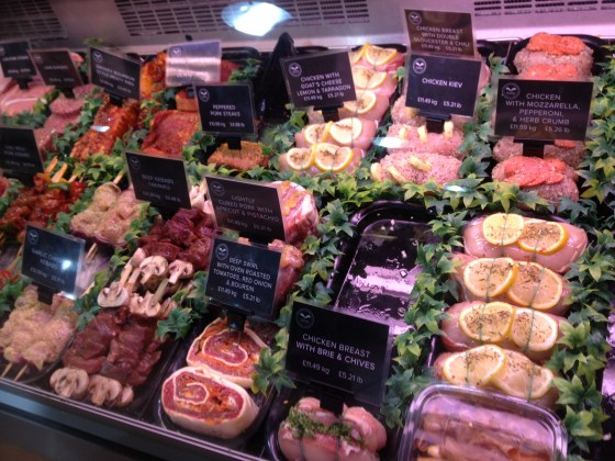 Welbeck Farm Shop Butcher Counter