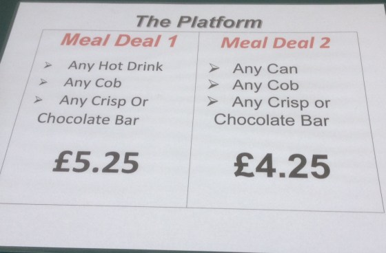 Meal Deal Options