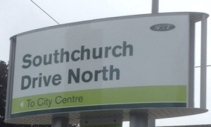 Southchurch Drive North Tram Stop