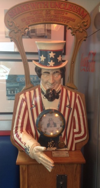 Uncle Sam at the A1 diner