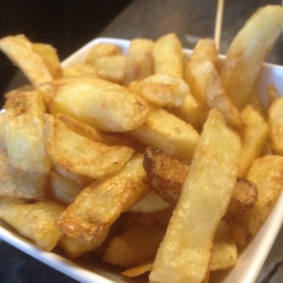 Chips at Handmade Burger Coin Nottingham