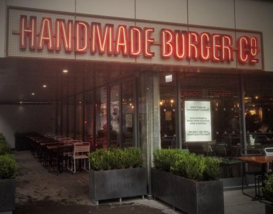 Handmade Burger Co Nottingham