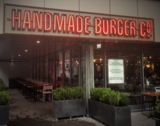 Handmade Burger Co Nottingham