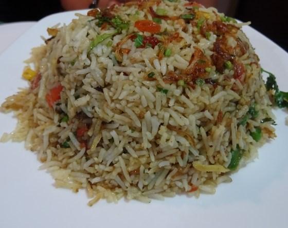 Vegetable Biriyani at Cochin Fort