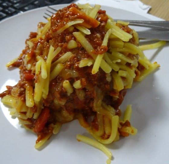 Jacket Potato with Chilli and Cheese