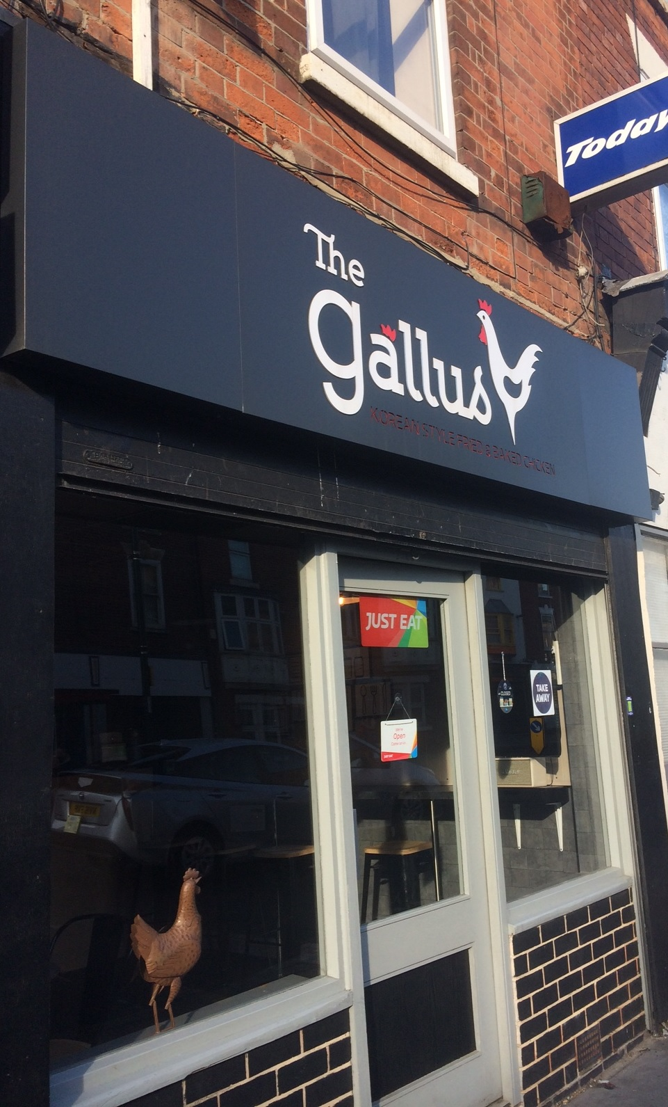 Korean Style Fried Chicken At The Gallus The Nottingham