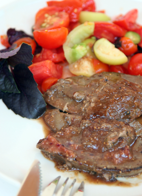 Liver with Fig Sauce 3