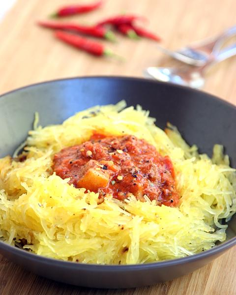 Spaghetti Squash with Caveman Sauce2