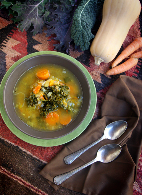 Farmers Market Winter Soup Top