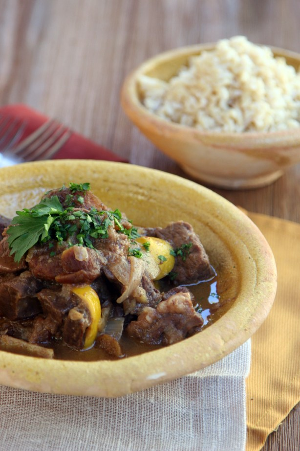 Moroccan Heart Stew Front View