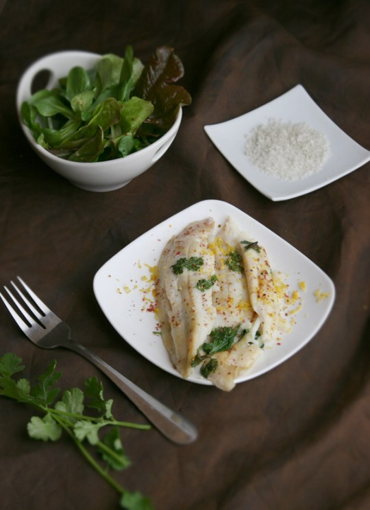 Aromatic Dover Sole Filets