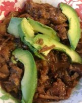 CHICHARRON AND AVOCADO