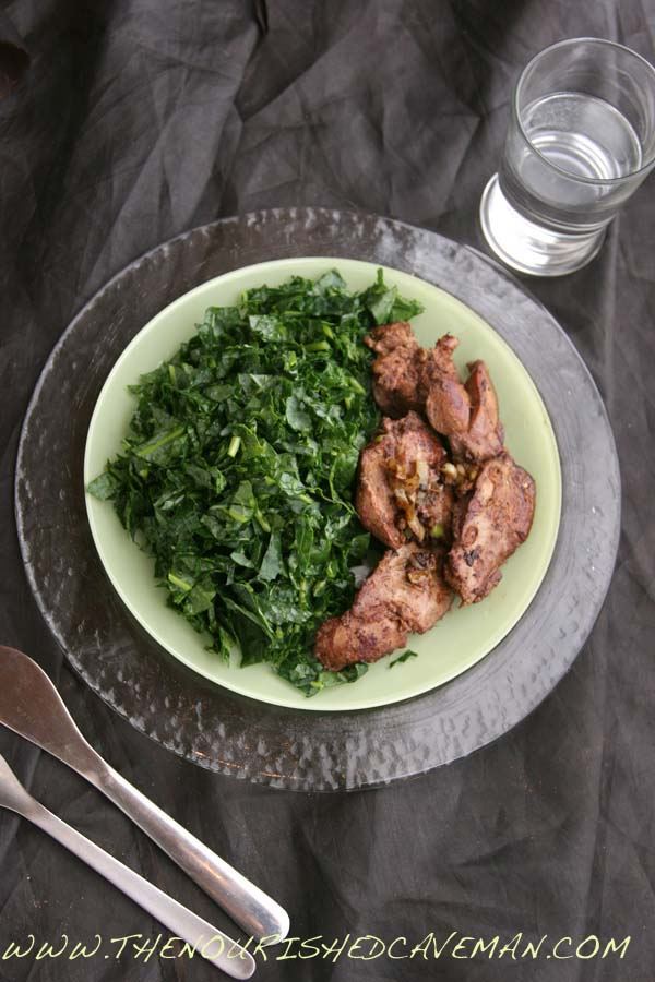 Sauteed chicken liver recipe for ketogenic diet week meal plan sauted chicken liver by the nourished caveman 3 sauted chicken liver recipe with baby forumfinder Gallery