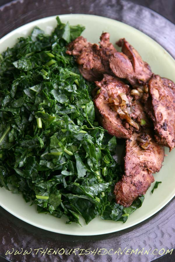 Sauted Chicken Liver by The Nourished Caveman