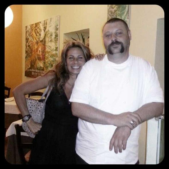 Me and Matteo Fronduti at Manna